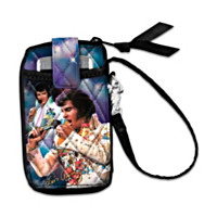 Hang With Elvis Wristlet