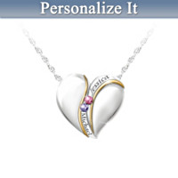 Brought Together By Love Personalized Pendant Necklace