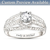 Always Loving You Personalized Ring