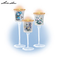 Lena Liu Glow Of The Garden Candleholder Set