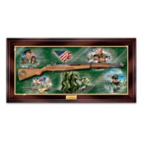 USMC M1 Garand Rifle Wall Decor