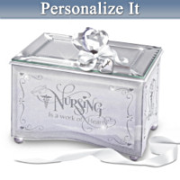 Reflections Of Tender Loving Care Personalized Music Box
