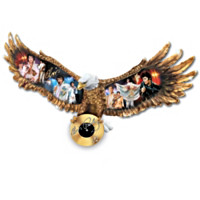 Elvis: American Eagle Wall Sculpture