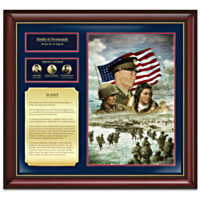 D-Day Commemorative Tribute Plaque Wall Decor