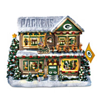 Green Bay Packers Story House Sculpture