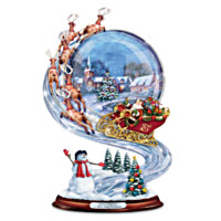 Richard Macneil A Holly Jolly Christmas Sculpture
