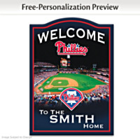 Philadelphia Phillies Personalized Wall Decor