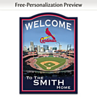 St. Louis Cardinals Personalized Wall Decor