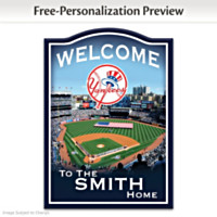 New York Yankees Personalized Wall Decor