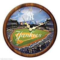New York Yankees Wall Clock