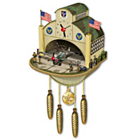 P-40 Flying Tiger Cuckoo Clock