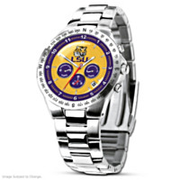 LSU Tigers Collector's Watch