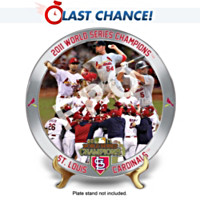 2011 World Series St. Louis Cardinals Collector Plate