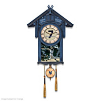 Mickey Mantle Cuckoo Clock