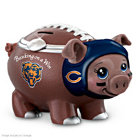 Banking On A Win Chicago Bears Football Piggy Bank