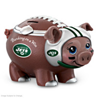 Banking On A Win New York Jets Football Piggy Bank