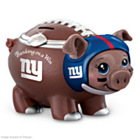 Banking On A Win New York Giants Football Piggy Bank