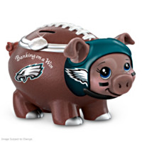 Banking On A Win Philadelphia Eagles Football Piggy Bank