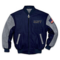 Navy Pride Men's Jacket