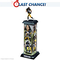 Troy Polamalu: Legend In Action Sculpture