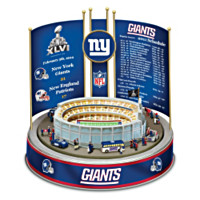 New York Giants Super Bowl XLVI Championship Carousel