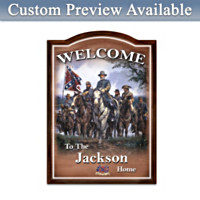 Civil War Personalized Wall Decor