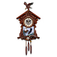 Al Agnew Guardians Of Time Cuckoo Clock