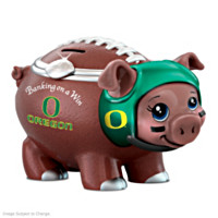 Banking On A Win University Of Oregon Football Piggy Bank