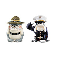 Drill And Dress Salt And Pepper Shaker Set