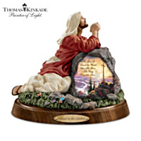 Thomas Kinkade Prayer In The Garden Sculpture