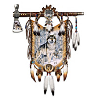 Sacred Sentinels Decorative Breastplate And Tomahawk