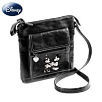 Disney Retro Mickey And Minnie Crossbody Bag