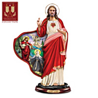 Devotion To The Sacred Heart Sculpture