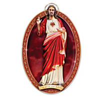 Sacred Heart Of Jesus Masterpiece Collector Plate