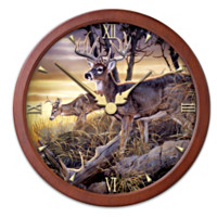 Chance Encounters Wall Clock