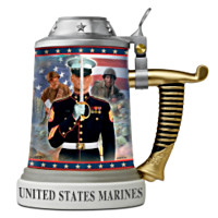 Pride Of The Corps Stein Home Decor