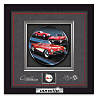 Corvette: American Dream Car Shadowbox Plate