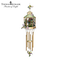 Thomas Kinkade Garden Song Hanging Sculpture