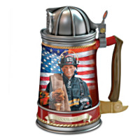 The Brotherhood Of Bravery Firefighters' Stein