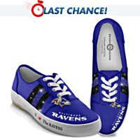 I Love The Ravens Women's Shoes