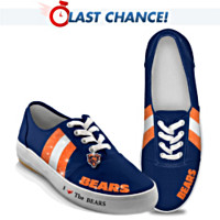 I Love The Chicago Bears Women's Shoes