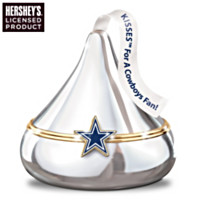 KISSES For A Cowboys Fan Music Box