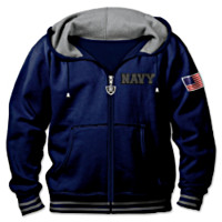 U.S. Navy Freedom Fighter Men's Hoodie