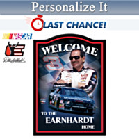 Dale Earnhardt Sr. Personalized Wall Decor