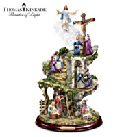 Thomas Kinkade Life Of Christ Masterpiece Sculpture