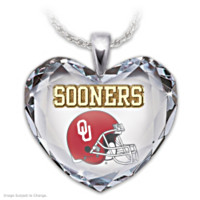 Go Sooners! Pendant Necklace
