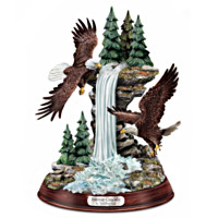 Sunrise Cascade Eagle Sculpture