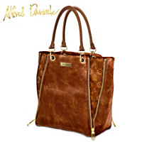 Southport Signature Zipper Tote Bag