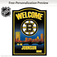 Boston Bruins® Personalized Wall Decor