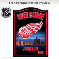 Detroit Red Wings® Personalized Wall Decor